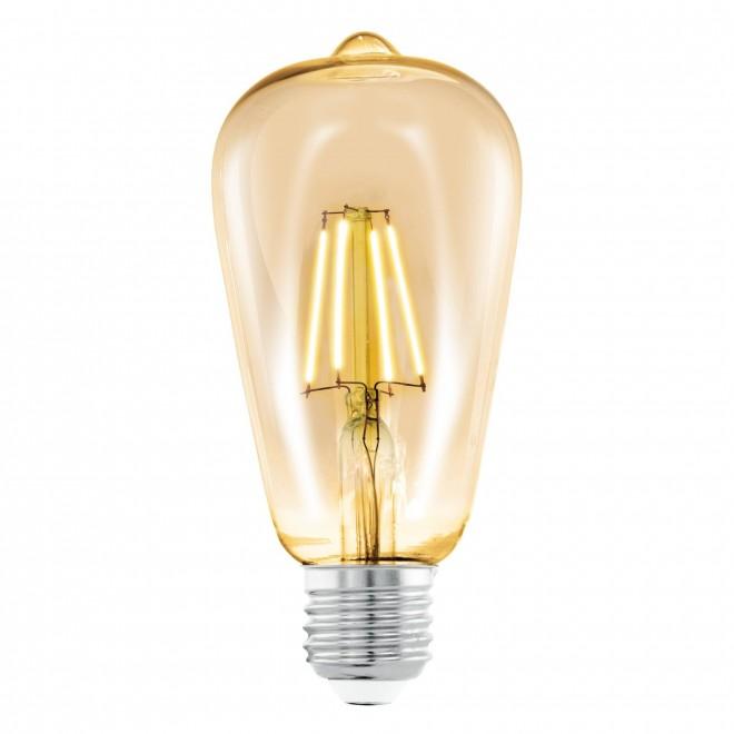 EGLO 11521 | E27 4W -> 22W Eglo Edison ST64 LED izvori svjetlosti filament 220lm 2200K 360° CRI>80