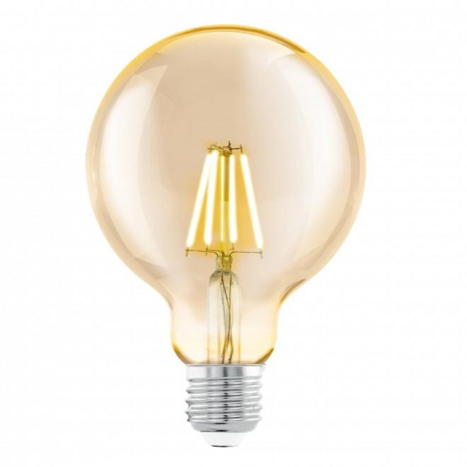 EGLO 11522 | E27 4W -> 30W Eglo velika kugla G95 LED izvori svjetlosti filament 330lm 2200K 360° CRI>80
