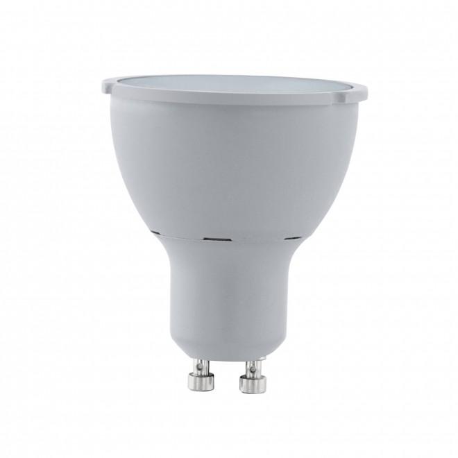 EGLO 11542 | GU10 5W -> 65W Eglo spot LED izvori svjetlosti Step Dim. 400lm 4000K jačina svjetlosti se može podešavati s impulsnim prekidačem 30° CRI>80