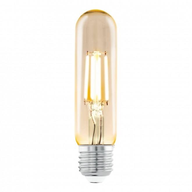 EGLO 11554 | E27 3,5W -> 22W Eglo cilindar T32 LED izvori svjetlosti filament 220lm 2200K 360° CRI>80