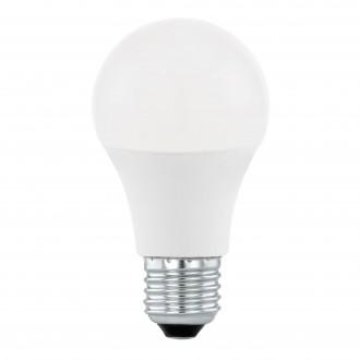 EGLO 11562 | E27 10W -> 60W Eglo obični A60 LED izvori svjetlosti Step Dim. 806lm 4000K jačina svjetlosti se može podešavati s impulsnim prekidačem 200° CRI>80