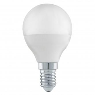 EGLO 11583 | E14 6W -> 40W Eglo mala kugla P45 LED izvori svjetlosti Step Dim. 470lm 3000K jačina svjetlosti se može podešavati s impulsnim prekidačem CRI>80
