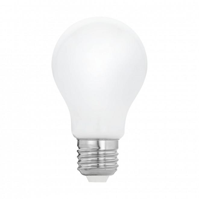 EGLO 11595 | E27 5W -> 40W Eglo obični A60 LED izvori svjetlosti filament, milky 470lm 2700K 360° CRI>80