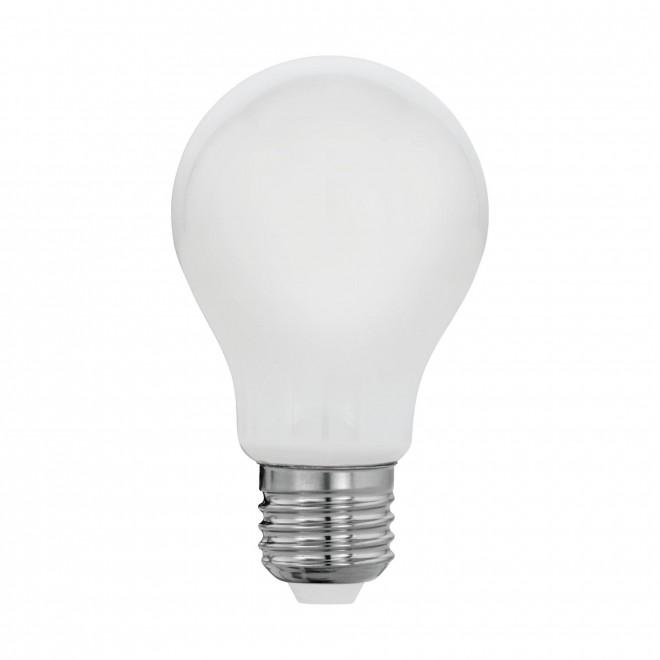 EGLO 11596   E27 8W -> 60W Eglo obični A60 LED izvori svjetlosti filament, milky 806lm 2700K 360° CRI>80
