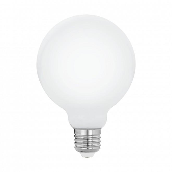 EGLO 11599   E27 5W -> 40W Eglo velika kugla G95 LED izvori svjetlosti filament, milky 470lm 2700K 360° CRI>80