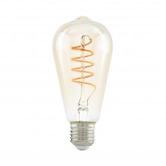 EGLO 11681 | E27 4W -> 25W Eglo Edison ST64 LED izvori svjetlosti filament, Spiral 260lm 2200K 360° CRI>80