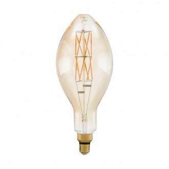 EGLO 11685 | E27 8W -> 60W Eglo E140 LED izvori svjetlosti filament, BigSize 806lm 2100K jačina svjetlosti se može podešavati 360° CRI>80