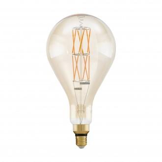 EGLO 11686 | E27 8W -> 60W Eglo PS160 LED izvori svjetlosti filament, BigSize 806lm 2100K jačina svjetlosti se može podešavati 360° CRI>80