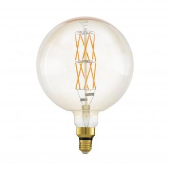 EGLO 11687 | E27 8W -> 60W Eglo velika kugla G200 LED izvori svjetlosti filament, BigSize 806lm 2100K jačina svjetlosti se može podešavati 360° CRI>80