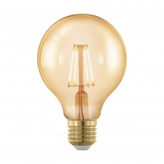 EGLO 11692 | E27 4W -> 30W Eglo velika kugla G80 LED izvori svjetlosti filament, golden age 320lm 1700K jačina svjetlosti se može podešavati 360° CRI>80
