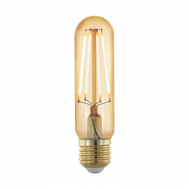 EGLO 11697 | E27 4W -> 30W Eglo cilindar T32 LED izvori svjetlosti filament, golden age 320lm 1700K jačina svjetlosti se može podešavati 360° CRI>80