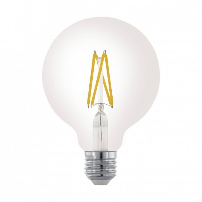 EGLO 11703   E27 6W -> 60W Eglo velika kugla G95 LED izvori svjetlosti filament 806lm 2700K jačina svjetlosti se može podešavati 360° CRI>80