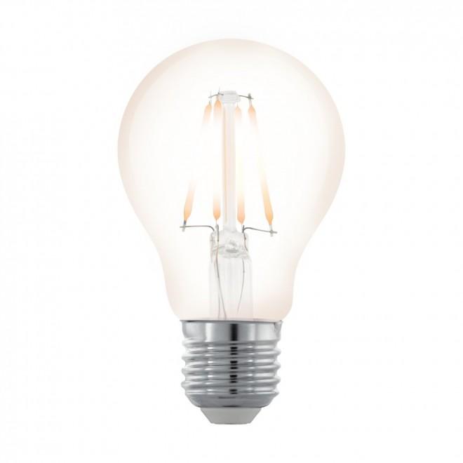 EGLO 11705 | E27 4W -> 35W Eglo obični A60 LED izvori svjetlosti filament, northern lights 390lm 2200K jačina svjetlosti se može podešavati 360° CRI>80