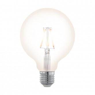 EGLO 11707 | E27 4W -> 32W Eglo velika kugla G95 LED izvori svjetlosti filament, northern lights 390lm 2200K jačina svjetlosti se može podešavati 360° CRI>80