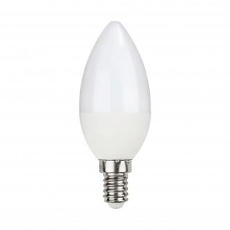 EGLO 11711 | E14 5W -> 40W Eglo oblik svijeće C35 LED izvori svjetlosti Relax & Work 470lm 2700 - 4000K jačina svjetlosti se može podešavati, sa podešavanjem temperature boje s impulsnim prekidačem 230° CRI>80