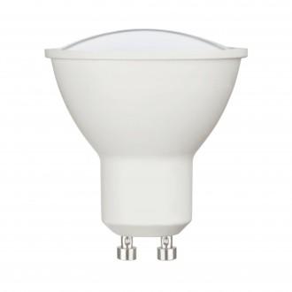 EGLO 11712 | GU10 5W -> 35W Eglo spot LED izvori svjetlosti Relax & Work 400lm 2700 - 4000K jačina svjetlosti se može podešavati, sa podešavanjem temperature boje s impulsnim prekidačem CRI>80
