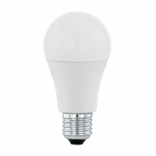 EGLO 11714 | E27 9,5W -> 60W Eglo obični A60 LED izvori svjetlosti Day & Night 806lm 3000K svjetlosni senzor - sumračni prekidač 170° CRI>80