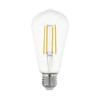 EGLO 11757 | E27 7W -> 60W Eglo Edison ST64 LED izvori svjetlosti filament 806lm 2700K 320° CRI>80