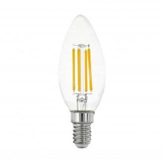 EGLO 11759 | E14 4W -> 40W Eglo oblik svijeće C35 LED izvori svjetlosti filament 470lm 2700K 320° CRI>80