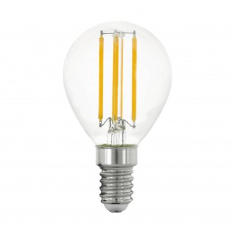 EGLO 11761 | E14 4W -> 40W Eglo mala kugla P45 LED izvori svjetlosti filament 470lm 2700K 320° CRI>80