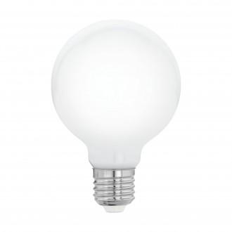 EGLO 11766 | E27 8W -> 75W Eglo velika kugla G80 LED izvori svjetlosti 320° 1055lm 2700K 320° CRI>80