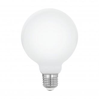 EGLO 11767 | E27 8W -> 75W Eglo velika kugla G95 LED izvori svjetlosti 320° 1055lm 2700K 320° CRI>80