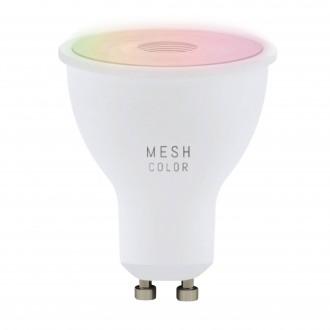 EGLO 11856   GU10 5W -> 50W Eglo spot LED izvori svjetlosti RGBTW smart rasvjeta 345lm 2700 <-> 6500K jačina svjetlosti se može podešavati, sa podešavanjem temperature boje, promjenjive boje CRI>80