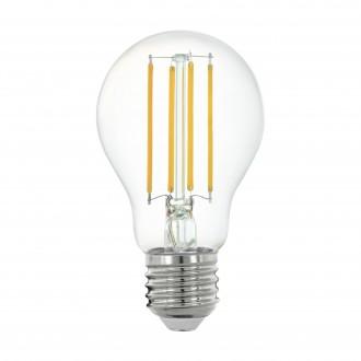 EGLO 11861 | E27 6W -> 60W Eglo obični A60 LED izvori svjetlosti filament smart rasvjeta 806lm 2700K jačina svjetlosti se može podešavati, može se upravljati daljinskim upravljačem CRI>80