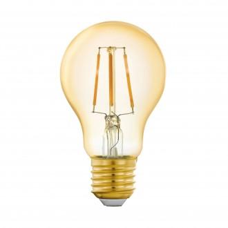 EGLO 11864 | E27 5,5W -> 41W Eglo obični A60 LED izvori svjetlosti filament smart rasvjeta 500lm 2200K jačina svjetlosti se može podešavati, može se upravljati daljinskim upravljačem CRI>80