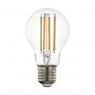 EGLO 12574 | E27 6W -> 60W Eglo obični A60 LED izvori svjetlosti CCT filament smart rasvjeta 806lm 2200 <-> 6500K jačina svjetlosti se može podešavati, sa podešavanjem temperature boje, može se upravljati daljinskim upravljačem CRI>80