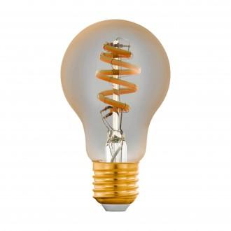 EGLO 12578 | E27 5,5W -> 35W Eglo obični A60 LED izvori svjetlosti CCT filament smart rasvjeta 400lm 2200 <-> 6500K jačina svjetlosti se može podešavati, sa podešavanjem temperature boje, može se upravljati daljinskim upravljačem CRI>80