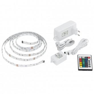 EGLO 13532 | Eglo-LS-Basic Eglo LED traka RGB svjetiljka daljinski upravljač jačina svjetlosti se može podešavati, promjenjive boje 1x LED RGBK bijelo