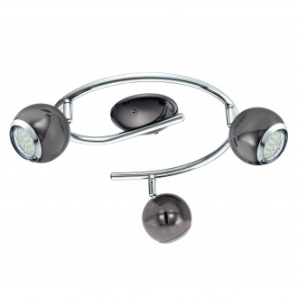 EGLO 31007 | Bimeda Eglo spot svjetiljka elementi koji se mogu okretati 3x GU10 720lm 3000K nikel, krom