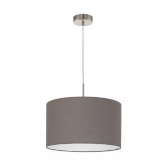 EGLO 31574   Eglo-Pasteri-A Eglo visilice svjetiljka 1x E27 mat braon, bijelo, poniklano mat