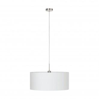 EGLO 31575 | Eglo-Pasteri-W Eglo visilice svjetiljka 1x E27 bijelo mat, poniklano mat