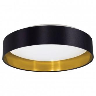 EGLO 31622 | Eglo-Maserlo-B Eglo stropne svjetiljke svjetiljka 1x LED 1500lm 3000K blistavo crna, zlatno, bijelo