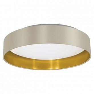EGLO 31624 | Eglo-Maserlo-T Eglo stropne svjetiljke svjetiljka 1x LED 1500lm 3000K taupe, zlatno, poniklano mat