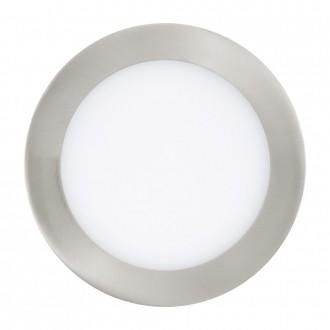 EGLO 31671 | Fueva_1 Eglo ugradbene svjetiljke LED panel okrugli Ø170mm 1x LED 1200lm 3000K poniklano mat, bijelo