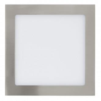 EGLO 31678 | Fueva-1 Eglo ugradbene svjetiljke LED panel četvrtast 225x225mm 1x LED 2080lm 4000K poniklano mat, bijelo