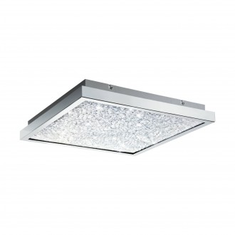 EGLO 32026 | Cardito Eglo stropne svjetiljke svjetiljka 4x LED 3400lm 3000K krom, prozirna