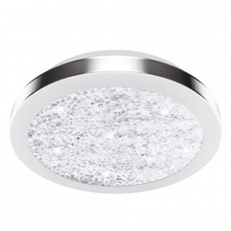 EGLO 32046 | Arezzo-LED2 Eglo stropne svjetiljke svjetiljka 1x LED 1500lm 4000K poniklano mat, prozirna, kristal