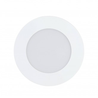 EGLO 32737 | EGLO-Connect-Fueva Eglo ugradbene svjetiljke smart rasvjeta okrugli jačina svjetlosti se može podešavati, sa podešavanjem temperature boje, promjenjive boje Ø120mm 1x LED 700lm 2700 <-> 6500K bijelo