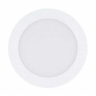 EGLO 32738 | EGLO-Connect-Fueva Eglo ugradbene svjetiljke smart rasvjeta okrugli jačina svjetlosti se može podešavati, sa podešavanjem temperature boje, promjenjive boje Ø170mm 1x LED 1200lm 2700 <-> 6500K bijelo
