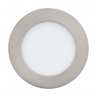 EGLO 32753 | EGLO-Connect-Fueva Eglo ugradbene svjetiljke smart rasvjeta okrugli jačina svjetlosti se može podešavati, sa podešavanjem temperature boje, promjenjive boje Ø120mm 1x LED 700lm 2700 <-> 6500K poniklano mat, bijelo