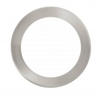 EGLO 32754 | EGLO-Connect-Fueva Eglo ugradbene svjetiljke smart rasvjeta okrugli jačina svjetlosti se može podešavati, sa podešavanjem temperature boje, promjenjive boje Ø170mm 1x LED 1200lm 2700 <-> 6500K poniklano mat, bijelo