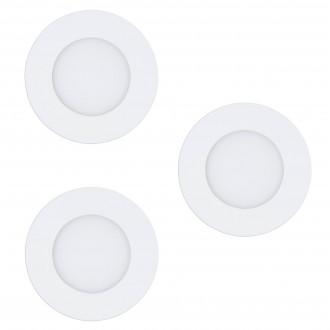 EGLO 32881 | EGLO-Connect-Fueva Eglo ugradbene svjetiljke smart rasvjeta okrugli jačina svjetlosti se može podešavati, sa podešavanjem temperature boje, promjenjive boje, trodijelni set Ø85mm 3x LED 1080lm 2700 <-> 6500K bijelo