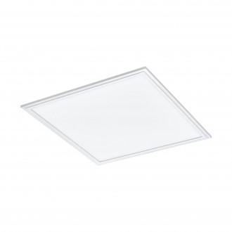EGLO 33107 | Salobrena-RGBW Eglo spušteni plafon RGBW LED panel četvrtast daljinski upravljač jačina svjetlosti se može podešavati, promjenjive boje 1x LED 2400lm rgbwK bijelo