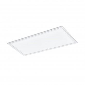 EGLO 33108 | Salobrena-RGBW Eglo spušteni plafon RGBW LED panel pravotkutnik daljinski upravljač jačina svjetlosti se može podešavati, promjenjive boje 1x LED 2400lm rgbwK bijelo
