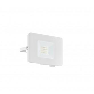 EGLO 33153 | Faedo Eglo reflektor svjetiljka - Samsung Chip četvrtast elementi koji se mogu okretati 1x LED 1800lm 4000K IP65 bijelo, prozirna
