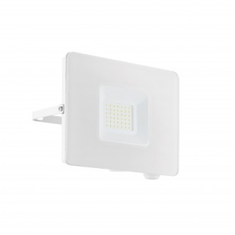 EGLO 33154 | Faedo Eglo reflektor svjetiljka - Samsung Chip četvrtast elementi koji se mogu okretati 1x LED 2750lm 4000K IP65 bijelo, prozirna